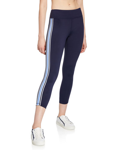 Side-Stripe 7/8 Performance Leggings