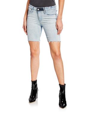 deee227273 Women's Designer Shorts: Denim & Linen at Neiman Marcus