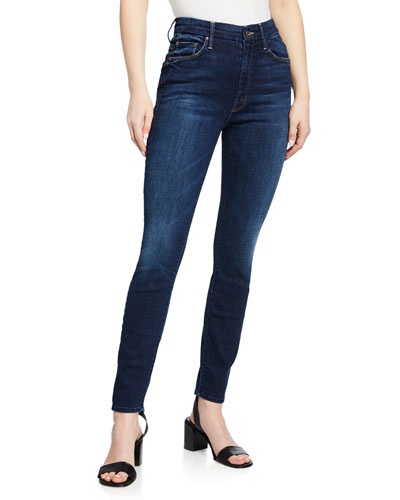 The High-Waisted Looker Ankle Skinny Jeans