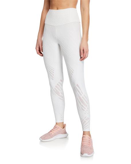 Onzie Pants Selenite Mesh Midi Leggings