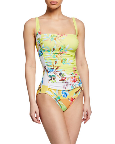 Layne Bandeau One-Piece Swimsuit