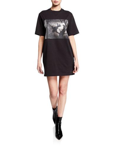 Disney X Coach Sequined Bambi Shirt Dress