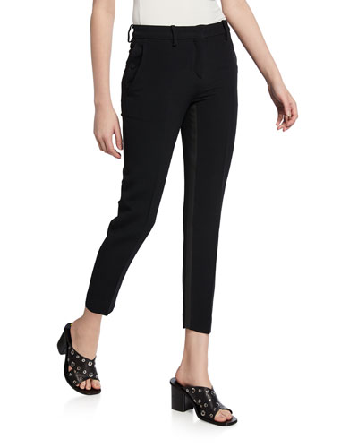 Tailored Skinny Crop Trousers