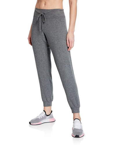Brushed Up Ankle Joggers