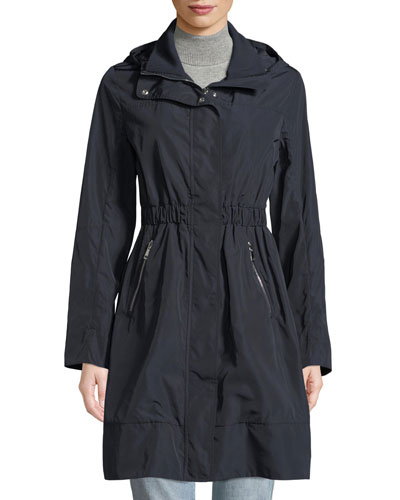 Disthelon Mid-Length Hooded Jacket