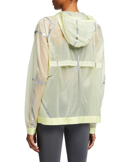 Nike City Ready Metallic Hooded Jacket