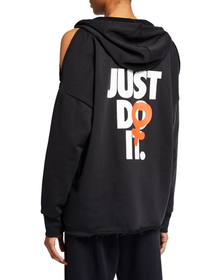 Nike Rebel Slash Fleece Hoodie
