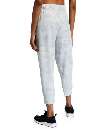 Nike Rebel Camo-Print Fleece Jogger Pants