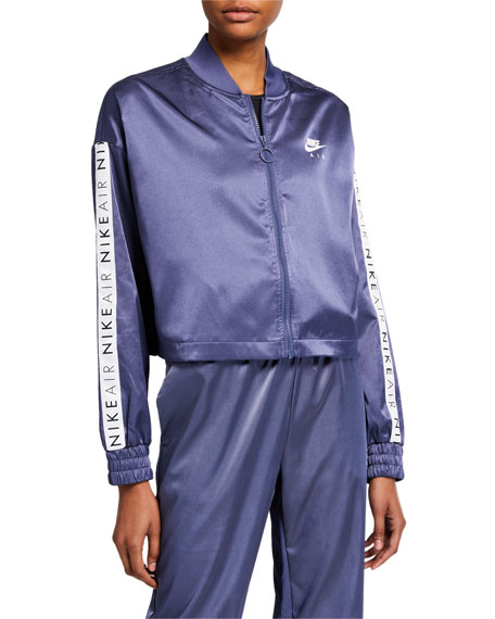 Nike Air Logo Satin Track Jacket
