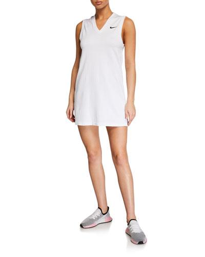 x Maria Sharapova NikeCourt V-Neck Tennis Dress