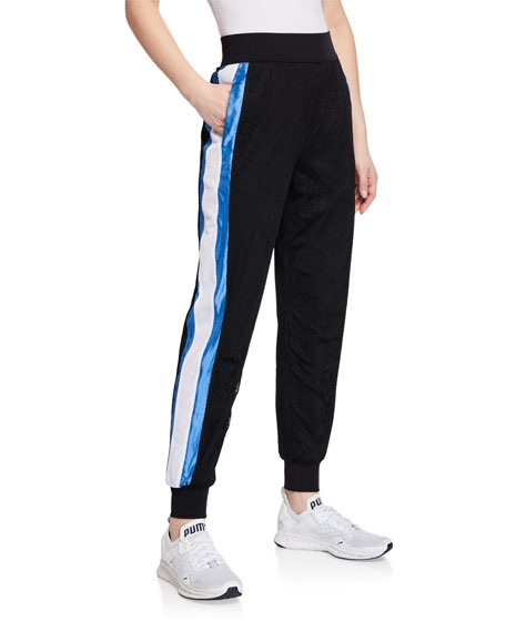 No Ka'oi AQUARIUM SIDE-STRIPE JOGGER PANTS