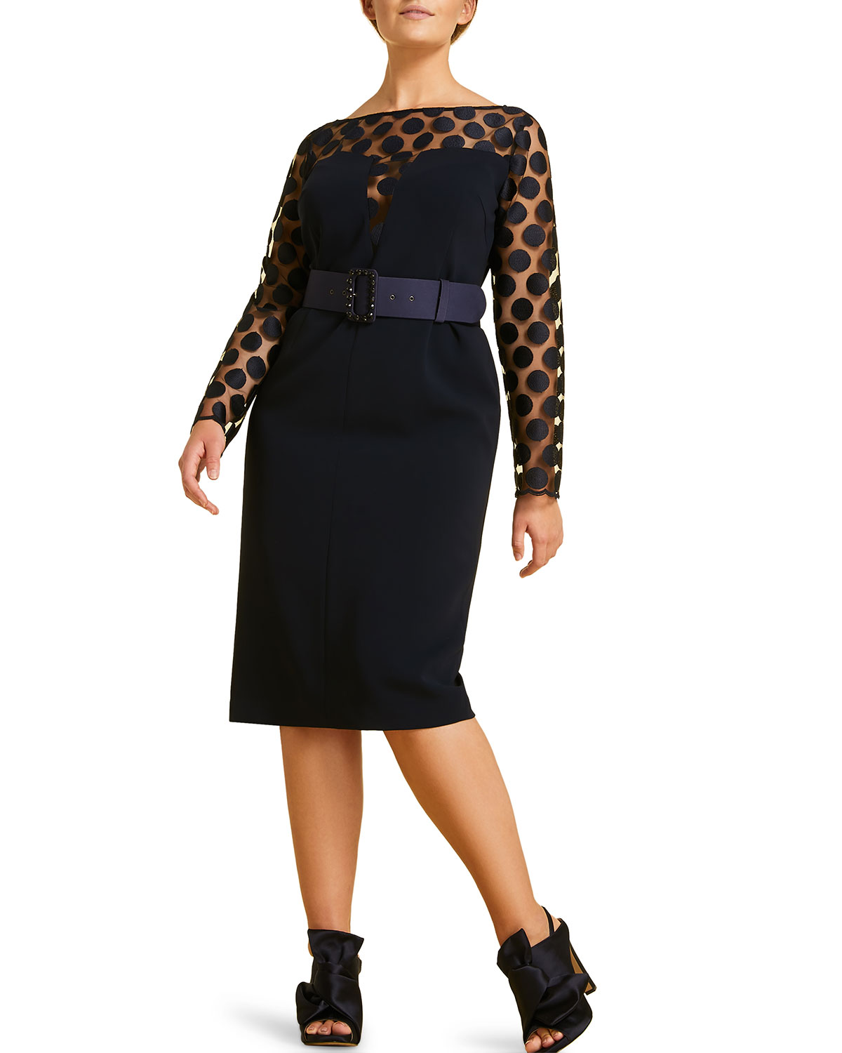 70f42388c2124 Marina Rinaldi Plus Size Divinas Dress