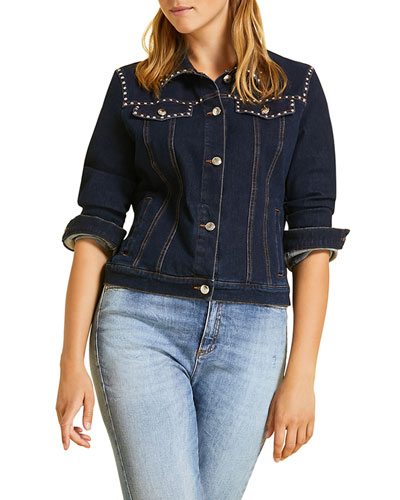 Canguro Denim Jacket  Plus Size