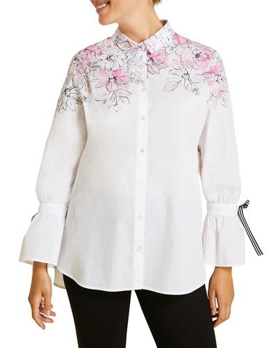 Fascia Shirt  Plus Size