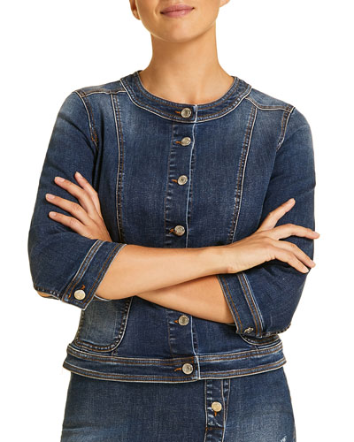 Camaiore Denim Jacket  Plus Size