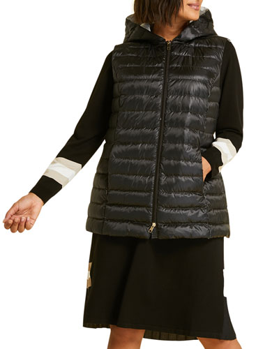 Cadice Quilted Hooded Puffer Vest