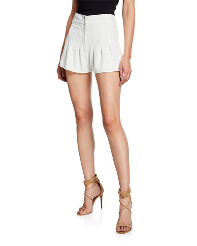 Pamela Pleated Shorts
