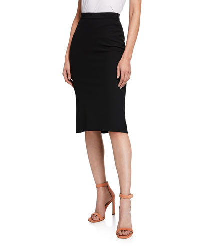 Darcey High-Waist Midi Skirt