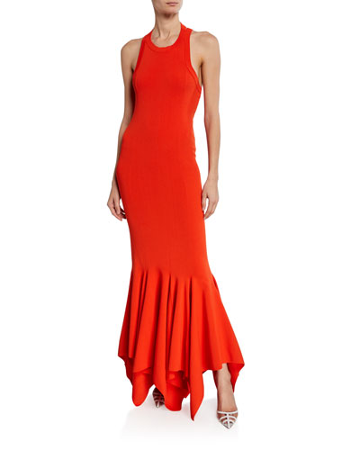 Kotara Sleeveless Asymmetrical Cocktail Dress