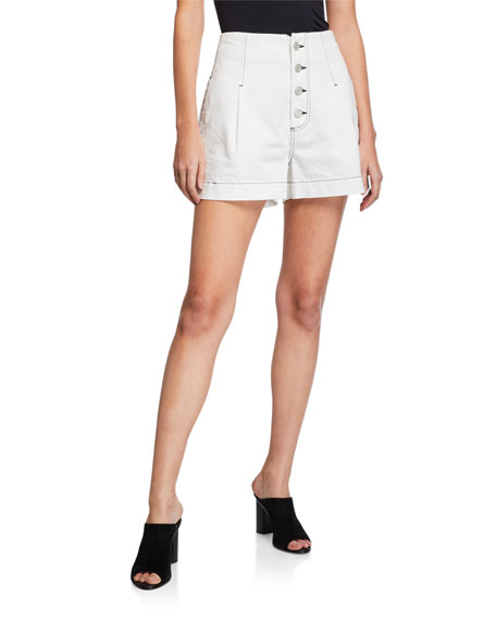 Joie Shorts TYLAR BUTTON-FLY SHORTS