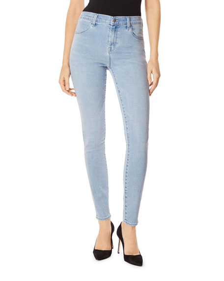 J Brand Jeans MARIA HIGH-RISE SKINNY JEANS