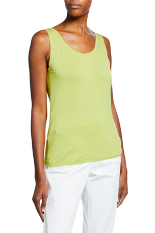 Masai Elisa Scoop-Neck Basic Jersey Tank