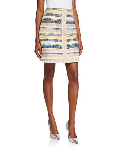 Julietta Textured Multi Skirt