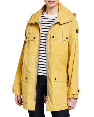 Dovedale Mid-Length Parka Coat w/ Hood