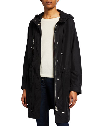 Ellersly Hooded Parka Coat
