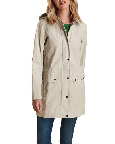 Undertow Long Jacket w/ Detachable Hood