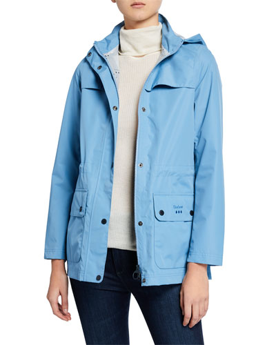 Drizzel Raincoat w/ Detachable Hood