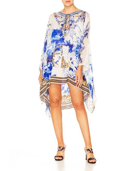 Camilla Dresses SHEER LAYERED DRESS W/ SPLIT