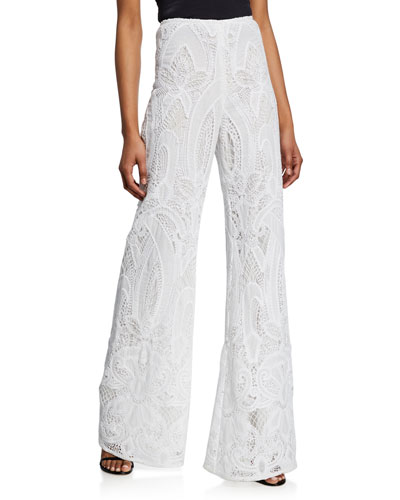 Ritchie High-Rise Lace Pants