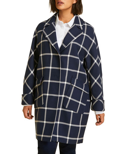 Targa Windowpane Coat