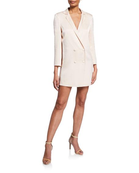 Donna Mizani Brody Double-Breasted Blazer Dress