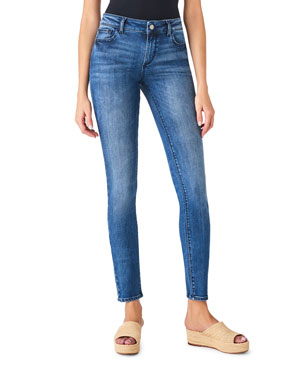08d8f7be8f DL1961 Premium Denim Florence Mid-Rise Supermodel Skinny Jeans