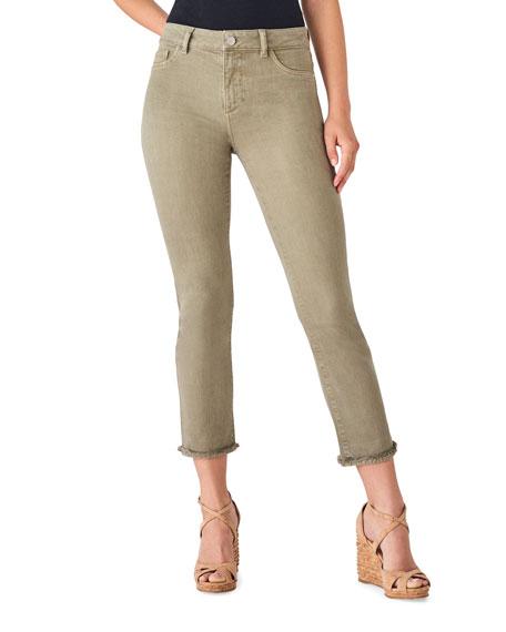 DL1961 Premium Denim Mara Mid-Rise Instasculpt Straight Jeans