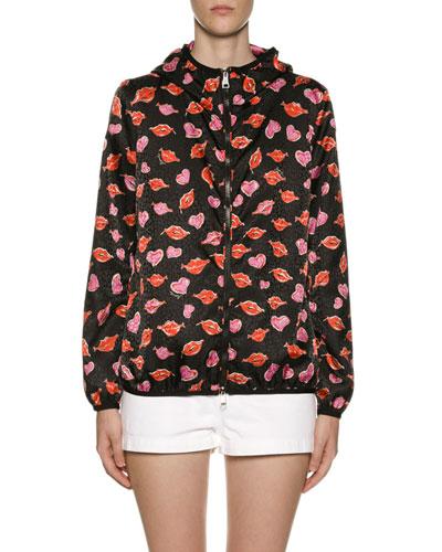 Vive Lip & Heart Raincoat