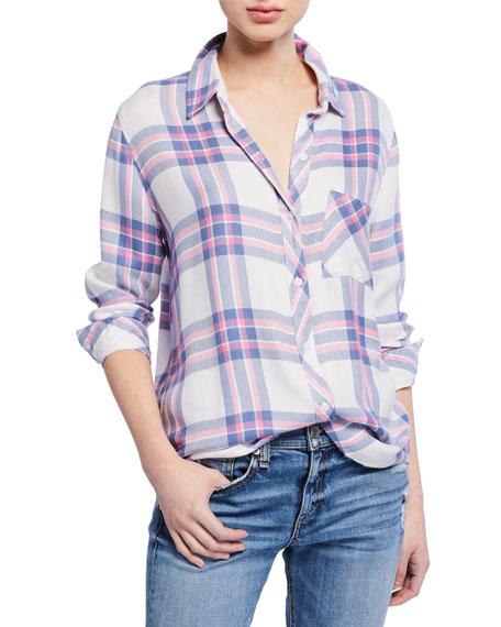 Rails T-shirts HUNTER PLAID BUTTON-DOWN SHIRT