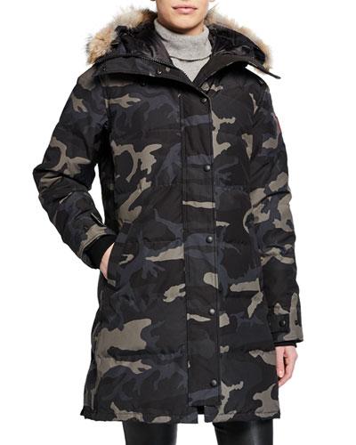 Shelburne Hooded Parka Coat