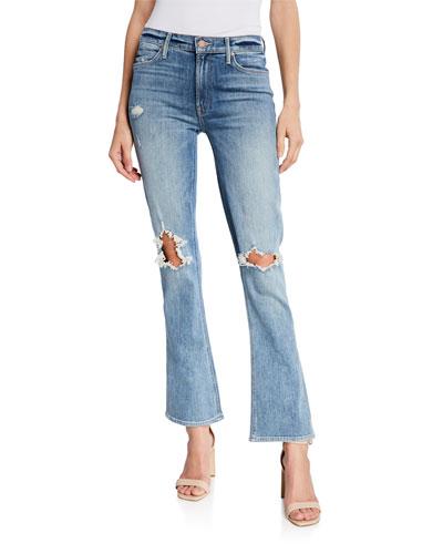 The Runaway Weekender Boot-Cut Jeans