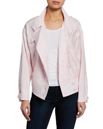 Zahara Double-Breasted Jacket