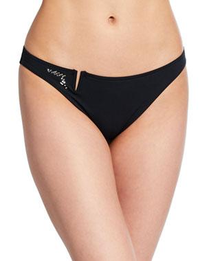 fca6bef39 Lise Charmel Cristal Feerie Embellished Bikini Bottom