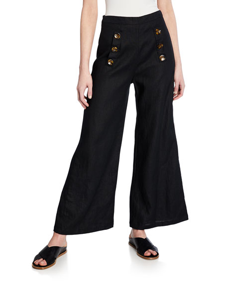 Faithfull The Brand Pants ADITA LINEN PANTS