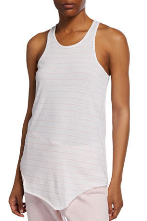 Frank & Eileen Tee Lab Striped Base Layer Racerback Tank