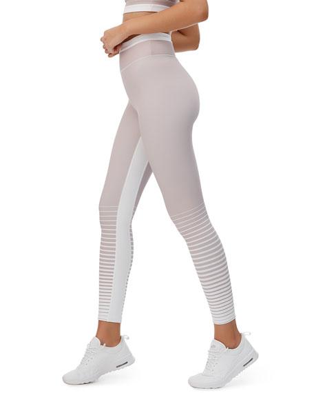 All Fenix Pants ARIA STRIPE HIGH-RISE ACTIVE LEGGINGS