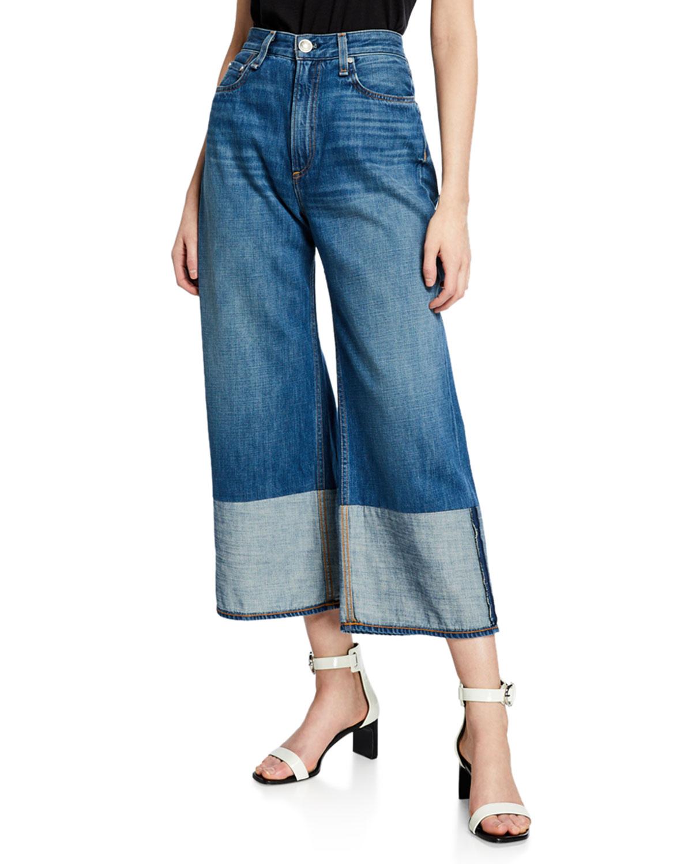 79086e7c97c Rag   Bone Ruth Super High-Rise Wide-Leg Jeans