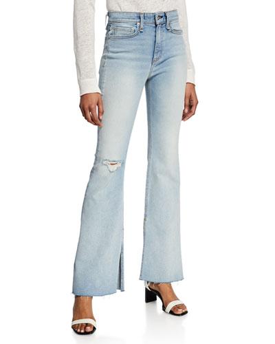 Nina High-Rise Flare Jeans