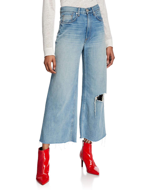 25943843a66 Rag   Bone Ruth Super High-Rise Ankle Wide-Leg Jeans