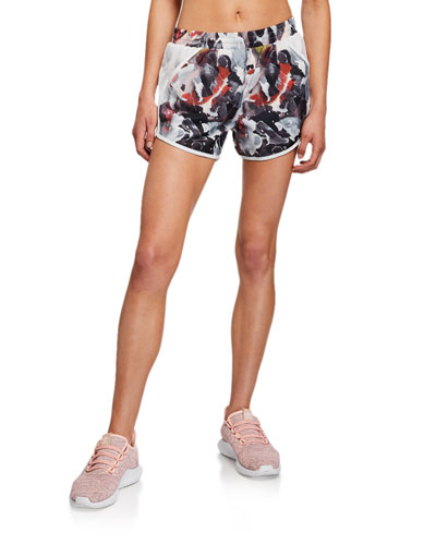 Fly By Printed Running Shorts
